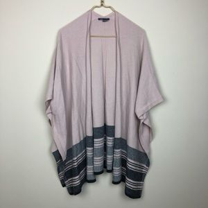 Vince Poncho Style Cardigan Sweater